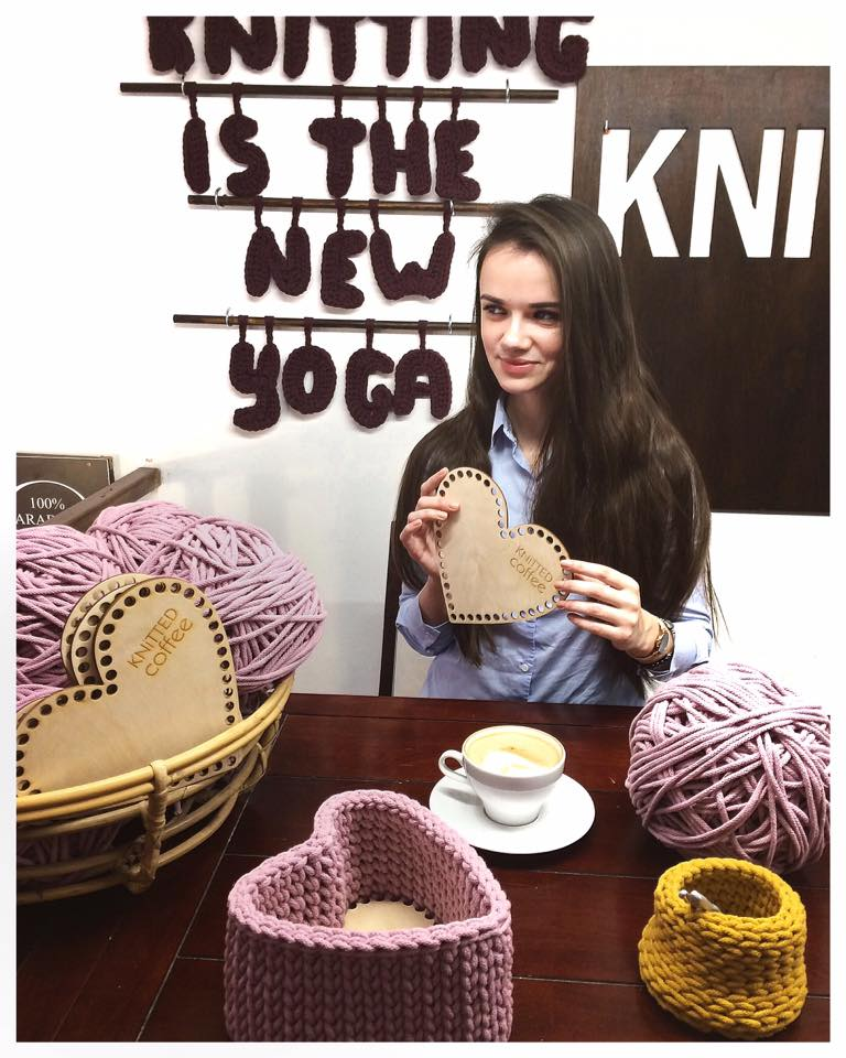 Knitting is the new yoga